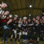 Brighton girls' <b>roller derby</b> celebrates fourth anniversary