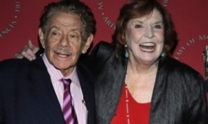 NEW YORK - FEBRUARY 24: Actor Jerry Stiller and Anne Meara attend the Academy Of Motion Picture Arts & Sciences official Oscar Celebration at the Carlyle Hotel on February 24, 2008 in New York City. (Photo by Brad Barket/Getty Images) *** Local Caption *** Anne Meara;Jerry Stiller