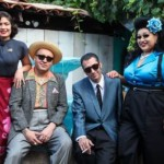 Barrio Boogie's back! Proud Chicanos reenact bygone 'pachuco' days in LA