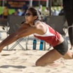 <b>Beach volleyball</b> fails to execute at Stanford tournament