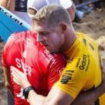 Mick Fanning wins World Surfing League event at scene of shark attack