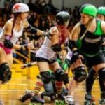 Auckland Roller Derby League vs Dead End Derby All Stars