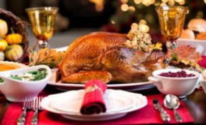 Thanksgiving Elegant Holiday Turkey Dinner