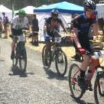 Mountain bike riders participate in endurance race through Riverside State Park